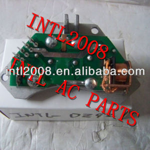 Ac reostato aquecedor ventilador de motor resistor para peugeot 106 405 406 605 parceiro citroen xm zx 6441.78 644178 698032 847283w 847283r