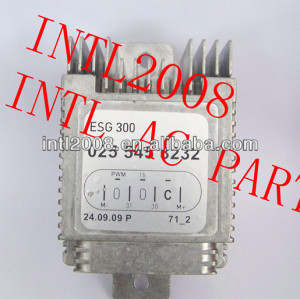 Unidade de controle Fan A / C rheostat Mercedes classe A W168 do ventilador do motor 0255453232 A0255453232 027 545 8032