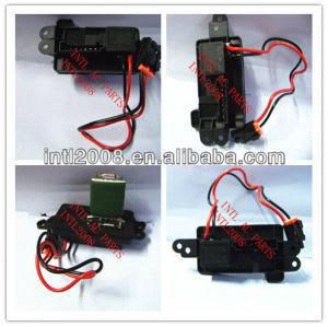 Um/c resistor reostato regulador aquecedor blower resistor motor unidade de controle para chevrolet chevy gmc unidade de controle/módulo