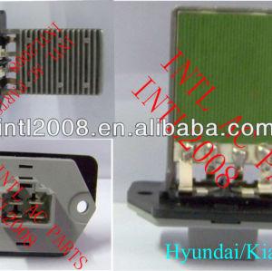 Blower resistor motor hyundai coupe/elantra/matriz/santa fe/tucson, kia magentis 970353a000 97035- 3d000 97128- 2d000 20276