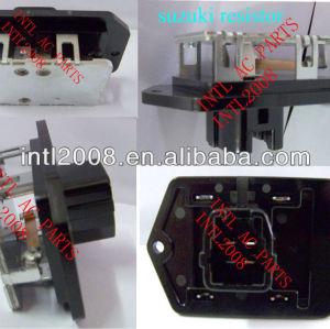 4 pino do motor do ventilador resistor switch/aquecedor de resistor para suzuki 246810-5050 2468105050 controlador/unidade de controle