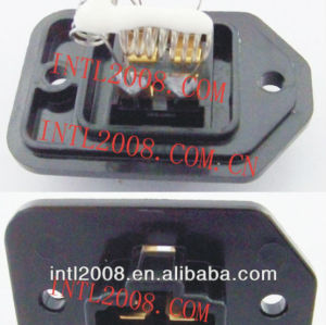 aquecedor ventilador resistor reostato ventilador do motor resistor ar condicionado toyota 4 pin