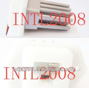 Aquecedor reostato resistor resistor aquecedor ventilador do ventilador do motor resistor ar condicionado nissan tiida sunny bluebird 27150ed70a- a128