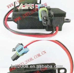 Hvac aquecedor do motor do ventilador do ventilador resistor reostato gmc savana/chevrolet entregaexpressa 1500 2500 3500 89018770 89018537 12135104 973-007