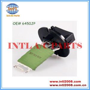 Aquecedor do motor do ventilador resistor para citroen xsara picasso/c3 peugeot 206/307 1.8l 2000-2005 6450jp 593230300 593-230-300