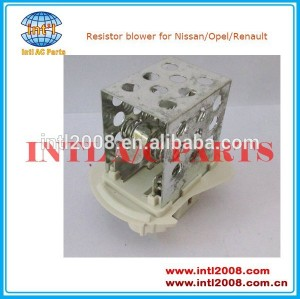 Aquecedor do motor do ventilador resistor 7701057557 4415550,93181462,931181462 para nissan interstar/opel movano/renault master iii