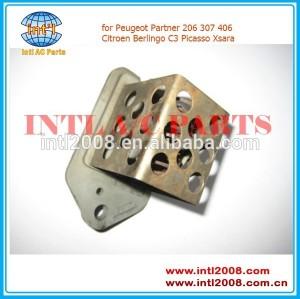 9641212580 radiador ventilador resistor para peugeot partner 206 307 406 citroen berlingo c3 xsara picasso
