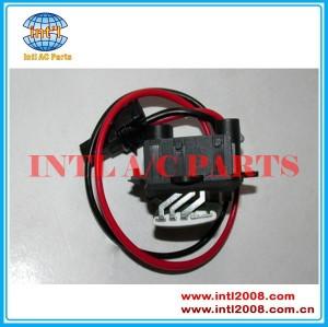 Aquecedor ventilador resistor reostato para renault/cênica 2002- oe#770104694 resistencia dd caixa evaporadora resistor motor regulador