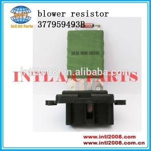 Resistencia eletroventilador para vw gol- 377959493b hvac ventilador elétrico resistor