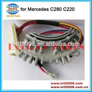 5HL351321101 0148350005 2028202510 HVAC Blower Motor Resistor para Mercedes C220 C280 2.8L 2.2L 94 95