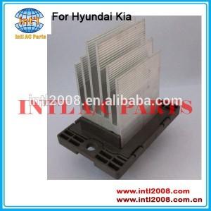 Auto ac condicionado blower motor resistor para Hyundai Tiburon Sonata Elantra Kia opirus 97235-1E000 97235-26000