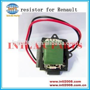 aquecedor do motor do ventilador do ventilador resistor para renault parte de ar condicionado regulador de controle