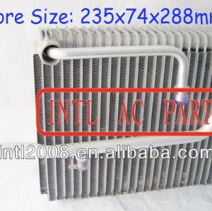 Evaporador ac central ar condicionado carro bobina de evaporador para honda acura tl ar condicionado uma/núcleo do evaporador ac corpo 80215-s84-a01