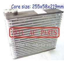 Evaporador ac central ar condicionado carro bobina de evaporador para honda fit jazz ar condicionado uma/c ac núcleo do evaporador( corpo) 80213saag01
