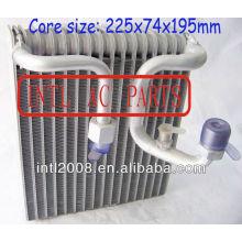Evaporador ac central ar condicionado carro bobina de evaporador para mazda 626 ar condicionado uma/c ac núcleo do evaporador( corpo)