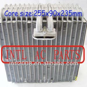 Evaporador ac central ar condicionado carro bobina de evaporador para toyota corolla ar condicionado uma/c ac núcleo do evaporador( corpo) 255x90x235mm