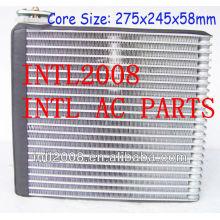Carro ac ar condicionado evaporador bobina de núcleo 3 mazda mitsubishi pajero ar condicionado uma/núcleo do evaporador ac corpo