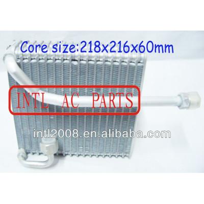 Ar condicionado carro ac núcleo do evaporador coil pickup isuzu ar condicionado uma/núcleo do evaporador ac corpo