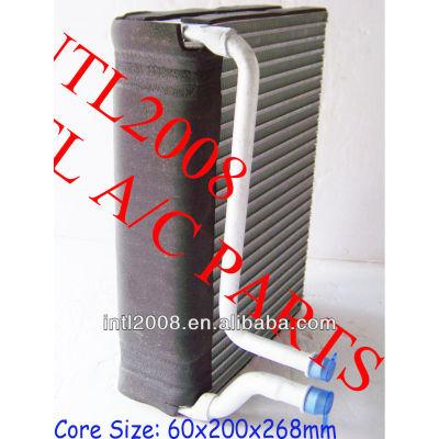 Carro ac ar condicionado evaporador bobina de núcleo 206 peugeot citroen ar condicionado uma/núcleo do evaporador ac corpo 6444c6