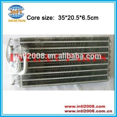Automotive kit AC evaporador núcleo tamanho 35 * 20.5 * 6.5 cm unidade para Mercedes Benz caminhão evaporador
