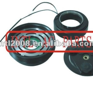 air ac compressors' clutch used for Hyundai HCC compressor 6PK pulley 128mm 12V includes hub, bearing, pulley, coil