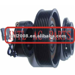 auto air conditioning ac compressor clutch pulley for 10S15 10S15C 2.4 12V 7PK 136/130mm