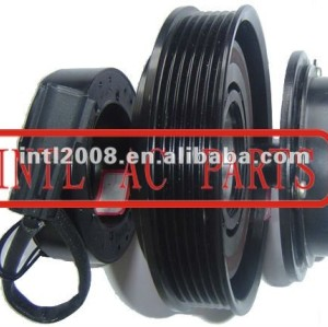 auto air conditioning ac compressor clutch pulley for 10PA17C 12V 6PK 135/130mm