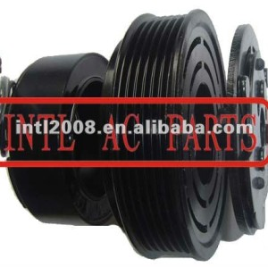 auto air conditioning ac compressor clutch pulley for 7H15 12V 6pk 123/119mm
