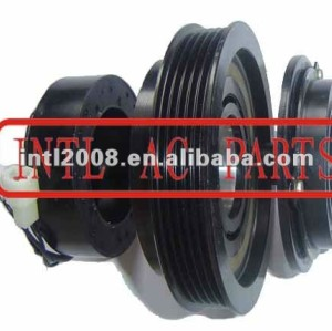 auto air conditioning ac compressor clutch pulley for 10PA17C 12V 5PK 136/131mm