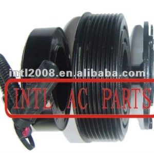 auto air conditioning ac compressor clutch pulley for 7V16 12V 8PK 123/119mm