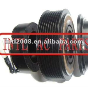 auto air conditioning ac compressor clutch pulley for 10PA17C 12V 8PK 123/119mm