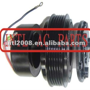 auto air conditioning ac compressor clutch pulley for 7H15 12V 5PK 123/119mm