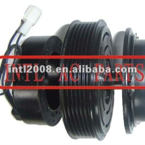 auto air conditioning ac compressor clutch pulley for 10PA17C 12V 6PK 119/115mm