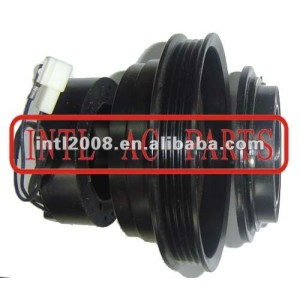 auto air conditioning ac compressor clutch pulley for 10PA17C 12V 4PK 135.8/129mm