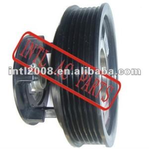 auto air conditioning ac compressor clutch pulley for 7SEU16C 12V 6PK 115/110mm
