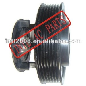 auto air conditioning ac compressor clutch pulley for 7SEU16C 12V 6PK 115/110mm new model