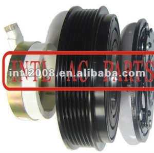 auto air conditioning ac compressor clutch pulley for V5 Chevrolet 12V 6PK 147.6/141.5mm