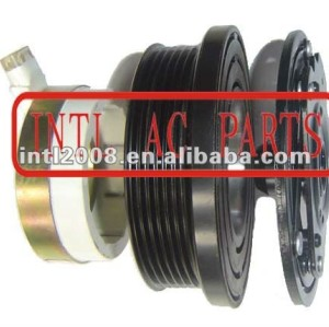 auto air conditioning ac compressor clutch pulley clutch for V5 12V 6PK 131.6/110mm