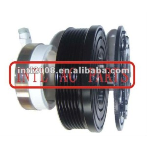 auto air conditioning ac compressor clutch pulley for V5 12V 6PK 131.6/125mm
