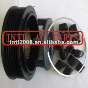 Denso 6SEU14C Audi A4 ac compressor magnetic clutch with 6pk pulley 8E0260805AS 4H0260805E 8E0260805GS