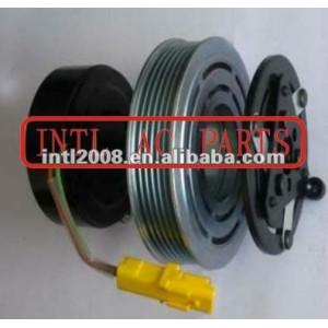 6453KS / 6453LN / 6453JN / 9646273880 sanden 6V12 7V16 ac compressor clutch for Citroen C2/ C3 / Peugeot Fiat Lancia 6pk pulley