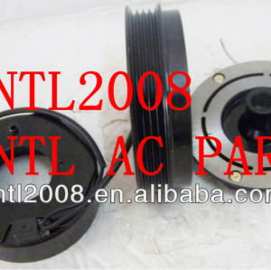 Denso 10S20F Cadillac Chevrolet GMC Hummer ac compressor magnetic clutch assembly 4pk pulley 89024909 15068854 15169965 15100338