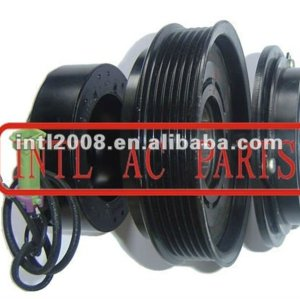 A/C compressor clutch with 6 grooves pulley applicable for 7SBU16C AUDI A6