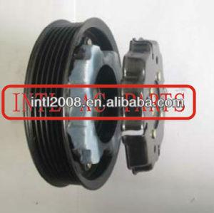auto a/c AC Compressor clutch PV6 pulley used for 6SEU12C Skoda Fabia