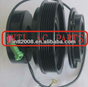 DENSO 7SBU16C Audi Skoda Volkswagen VW car air ac compressor clutch assembly 447100-7920 447170-6340 47220-8170 pv6 6pk pulley