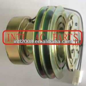 Sanden 709 7H15 SD7H15 AIR CON conditioner clutch assy Volkswagen (VW) Corrado Golf Jetta Passat 2pk 2 grooves pulley 357820803C