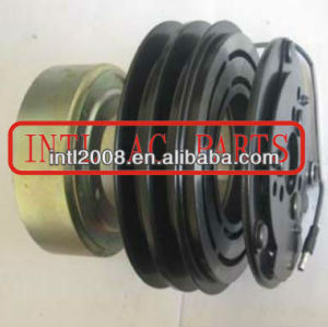 SANDEN 510 SD510 Air conditioner auto ac compressor clutch assy volvo 2 grooves pulley 3513598 9601543 magnetic clutch assembly