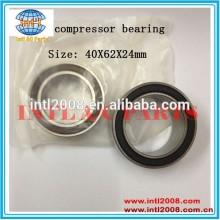 40bd219 auto ar condicionado compressor de embreagem rolamento 40x62x24 rolamentos de esferas