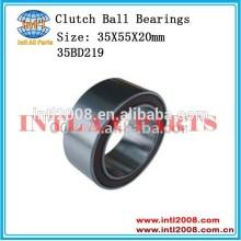 35bd219 rolamento auto ar condicionado compressor de embreagem rolamentos de esferas