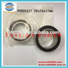 rolamento auto ar condicionado compressor de embreagem rolamentos de esferas 38bd5417 38x54x17mm